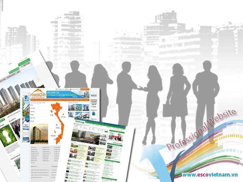 Dịch vụ thiết kế website bất động sản chuyên nghiệp