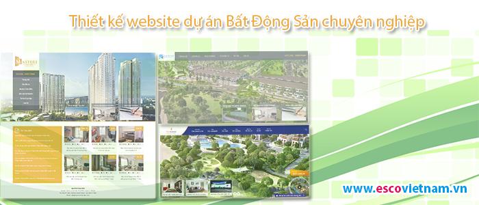 Thiết kế website dự án bất động sản chuyên nghiệp